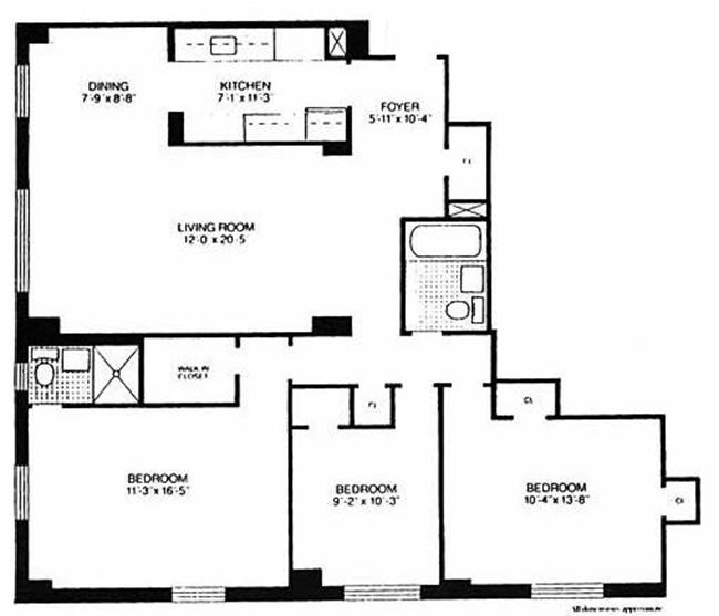 122 ashland pl 4h downtown brooklyn new york realdirect for 15 dunham place brooklyn ny floor plans
