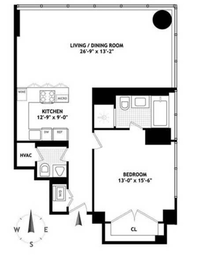 Additional photo for property listing at 157 WEST 57TH STREET  New York, Нью-Йорк,10019 Соединенные Штаты
