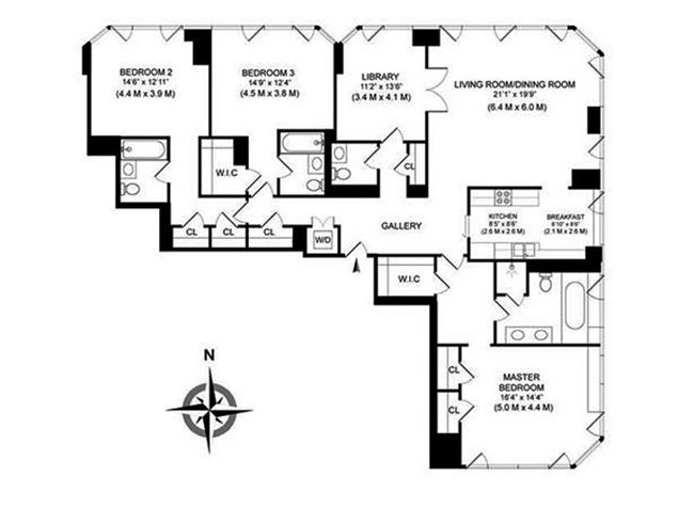 Additional photo for property listing at 300 EAST 55TH STREET  New York, Нью-Йорк,10022 Соединенные Штаты