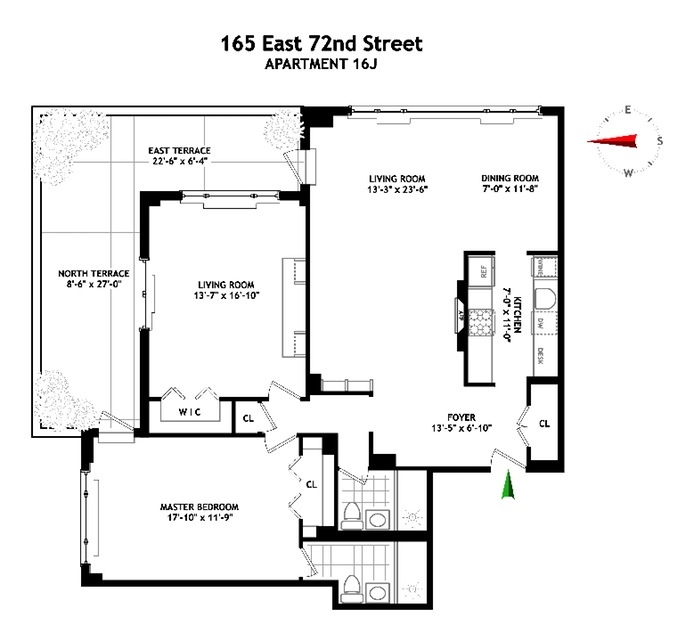 Additional photo for property listing at 165 EAST 72ND STREET  New York, New York,10021 États-Unis