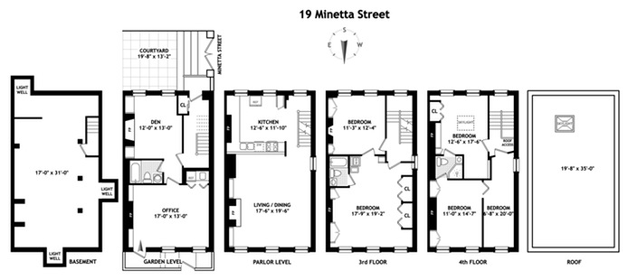 Additional photo for property listing at 19 Minetta Street  New York, New York,10012 Hoa Kỳ