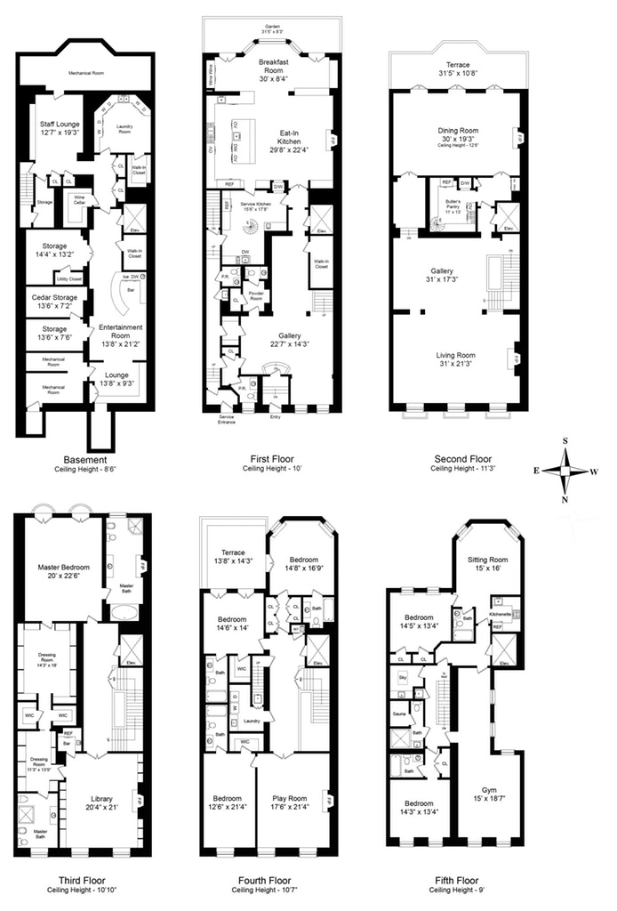 30000 Sq Ft House Floor Plan