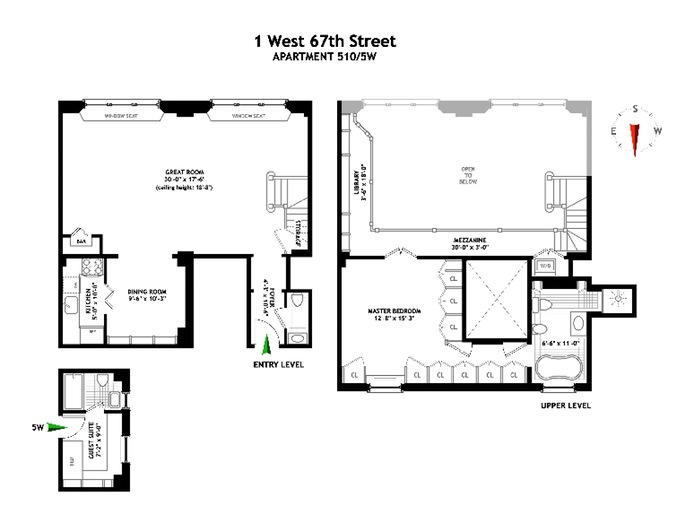Additional photo for property listing at 1 WEST 67TH STREET  New York, Нью-Йорк,10023 Соединенные Штаты
