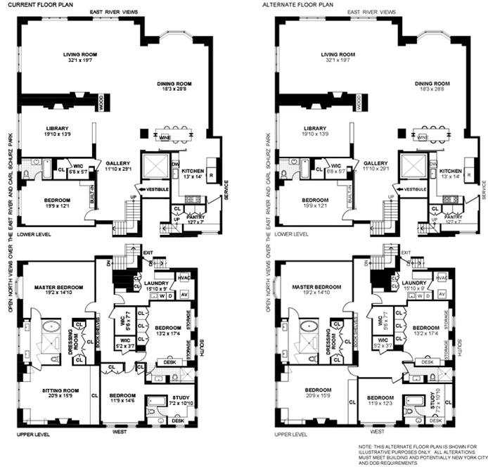 Additional photo for property listing at 10 GRACIE SQUARE  New York, Нью-Йорк,10028 Соединенные Штаты