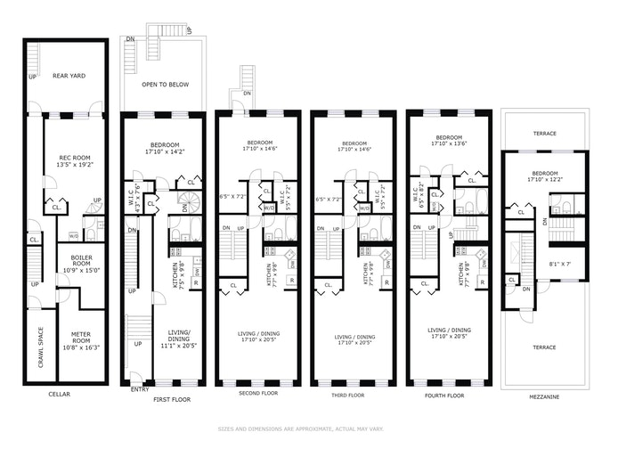Additional photo for property listing at 203 East 7th Street  New York, Нью-Йорк,10009 Соединенные Штаты