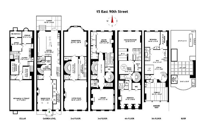 Additional photo for property listing at 15 EAST 90TH STREET  New York, New York,10128 Stati Uniti