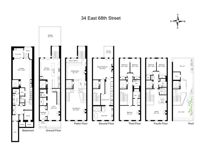 Additional photo for property listing at 34 EAST 68TH STREET  New York, New York,10065 États-Unis