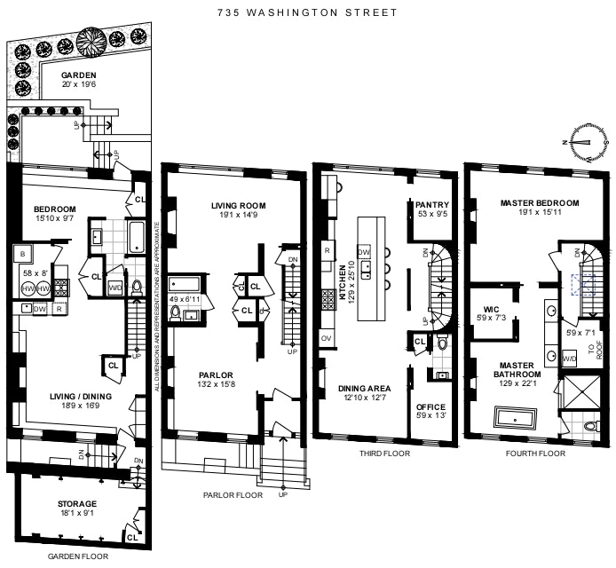 735 Washington Street W. Greenwich Village New York NY 10014