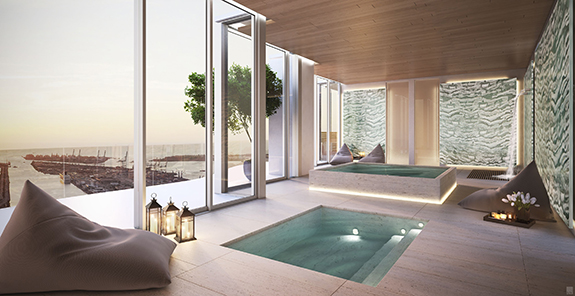 Auberge Residences and Spa Miami Condo Photo
