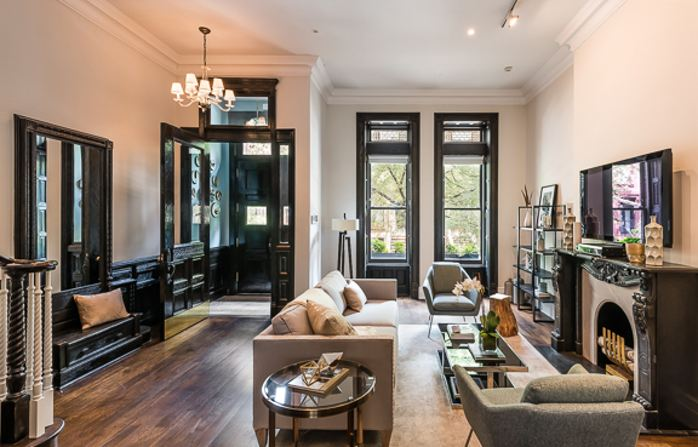 118 west 87th street upper west side nyc 9 500 000 for Upper west side townhouse for sale