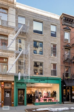 Additional photo for property listing at 23 PRINCE STREET  New York, New York,10012 États-Unis