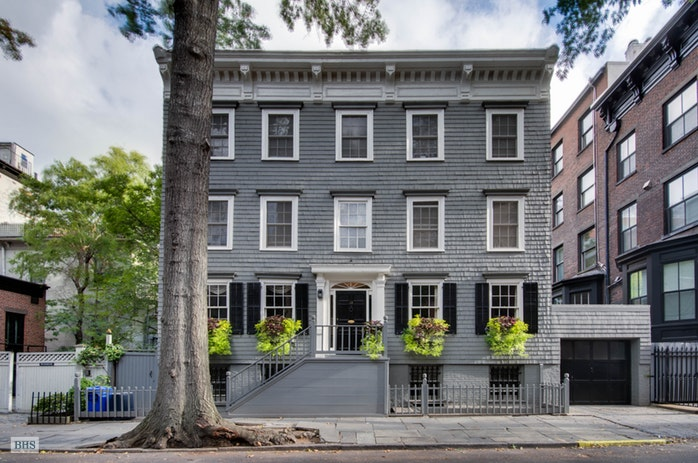 Single Family Home for Sale at Unique Federal Era House and Garage 13 Pineapple Street Brooklyn, New York,11201 United States