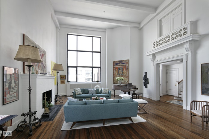 Living Room 86th Street 257 west 86th street, upper west side, nyc - $3,750,000. brown