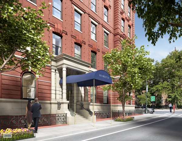 101 West 78th Street, Upper West Side, NYC, $4,750,000, Web #: 16362872