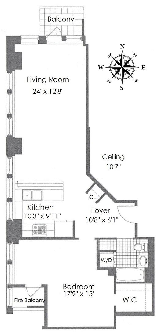 Apartment for sale at 45 East 30th Street, Apt 11C