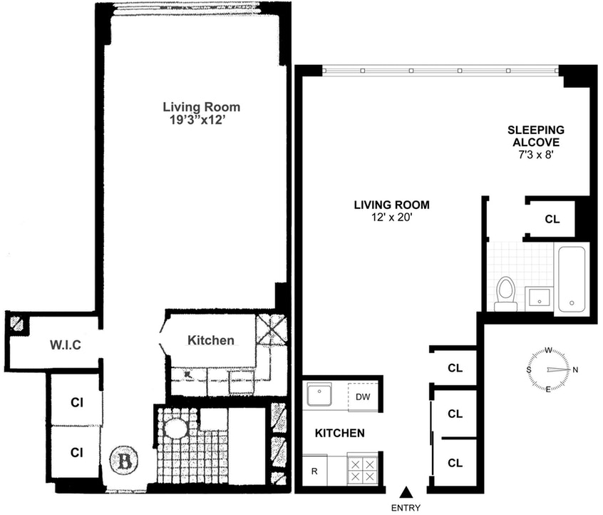 Apartment for sale at 101 West 12th Street, Apt 5BC