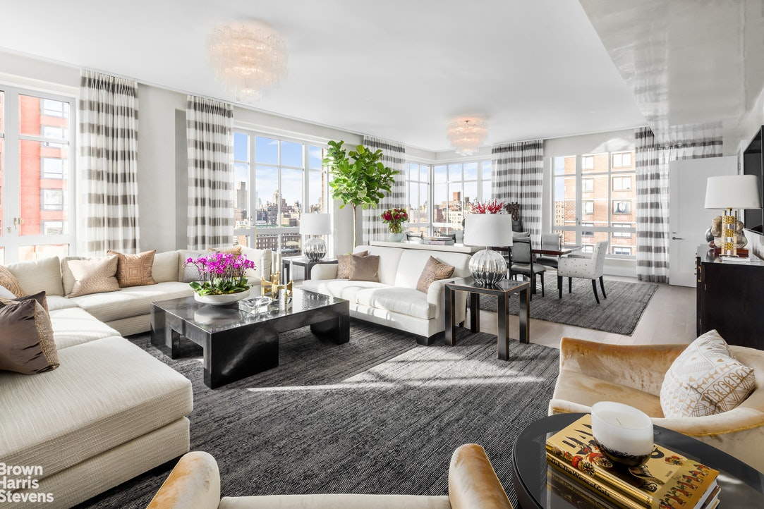 NEW PRICING! BRING ALL OFFERS! PAY NO TAXES FOR THE REMAINDER OF 2021! CONTACT US DIRECTLY FOR MORE DETAILS, THE KENT OFFERS ONE OF THE LAST 20-YEAR TAX ABATEMENTS IN NYC!IMMEDIATE CLOSING! Welcome to The Kent, an elegant luxury condominium crafted by award-winning architects Beyer Blinder Belle and acclaimed interior designer Alexandra Champalimaud. Developed in 2017, the condominium offers an incredibly attractive and rarely available 20-Year Tax Abatement (until 2039)! You will be the first owner of this beautifully designed and well proportioned 5 bedrooms, 4.5 bathroom residence with 3,564 square feet of living and entertaining space. A formal entrance gallery, ideal for exhibiting the most discerning of art collections, leads into the impressive and spacious 34' long Living Room and corner Dining Room. Brilliant sunshine illuminates the space through massive South and West facing windows, expanded by 10 foot high ceilings.The gourmet eat-in kitchen with its distinctive ivory high-gloss custom cabinetry and accented upper glass doors offers every state of the art feature, including Miele appliances, sub-zero wine storage, premium Dornbracht fittings. A separate large dining space that boasts a wall of floor to ceiling windows, again affording fabulous cityscape views, is perfect for bringing everyone together.The oversized corner Primary Suite, with its towering windows providing impressive East River views, is highlighted by his and her walk-in closets and an ensuite windowed primary bath luxuriously laid out in imported marble with Bianco Dolomiti accents and designer fittings. The remaining four bedrooms, three of which face the river to the East, feature their own ensuite bathrooms and similarly roomy 10-foot ceilings and spectacular views.Located in the coveted Upper East Side between Central Park & Carl Schurz Park, The Kent is right in the heart of a vibrant neighborhood filled with shops, restaurants, a Whole Foods supermarket, the 92nd Street Y, Museum