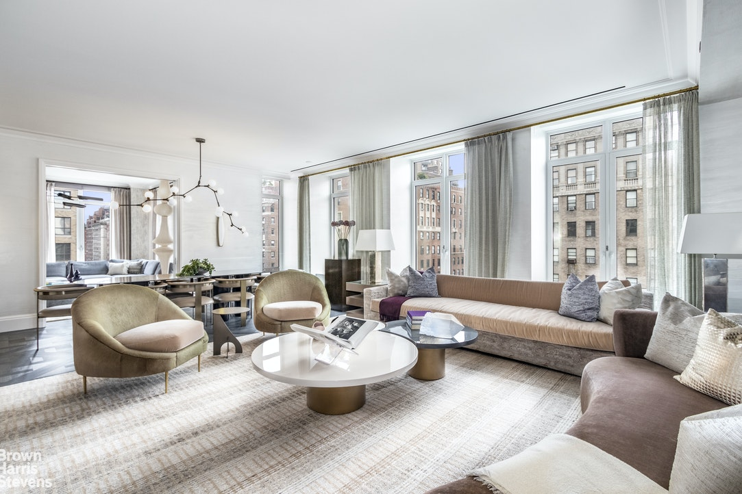 JUST LISTED!! Tremendous opportunity to secure the last full-floor residence at 1010 Park Avenue with glorious open exposures throughout. A sundrenched high-floor oasis in the heart of the prime Upper East Side, the offering of the Tenth Floor is the last of its kind with exceptional open vistas over Park Avenue to the East and open city views to the North and West, in a brand new boutique luxury condominium of unparalleled quality and service with a lavish amenity suite.Grand and elegant at 3,881 square feet, the Tenth Floor at 1010 Park Avenue offers a palatial living room, stately corner formal dining room and windowed oversized chef's eat-in-kitchen as well as four bedrooms and four-and-a-half bathrooms, all bathed in natural sunlight from three directions: North, East and West. Echoing the scale of prewar architecture enriched by contemporary yet timeless interior finishes, this union of architects Beyer Blinder Belle and David Collins Studio simultaneously captures both classic and modern design sensibilities, crafting a majestic sanctuary of luxury living at an iconic address.Effortlessly flowing between entertaining and living spaces, a private elevator landing guides you through the gracious foyer and into a massive living room with a perfectly situated adjoining formal dining room (or library/den, as per your needs), creating 40 feet of direct Park Avenue frontage and wrapping around the building's northern facade. Vistas over the greenery of the Park Avenue malls are magnified through oversized double casement picture windows which bathe the home in sunlight throughout the day. Beneath your feet, gorgeous hand-laid dark Continental Oak hardwood floors in Versailles parquet pattern are complemented by handsome molding and millwork creating a dramatic yet refined ambience which resounds throughout this home.Directly adjacent, a massive corner dining room showcases sun-flooded open city views North up Park Avenue and the skyline of the Upper East Side. An ex