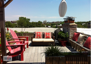 Furnished 2 BR with Exclusive Roof Deck