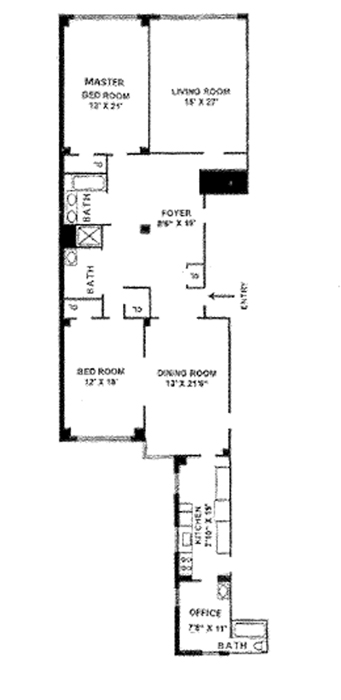 936 Fifth Avenue, Upper East Side, NYC, $3,382,500, Web #: 1015735