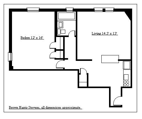 360 Clinton Avenue, Brooklyn, New York, $375,000, Web #: 1018328