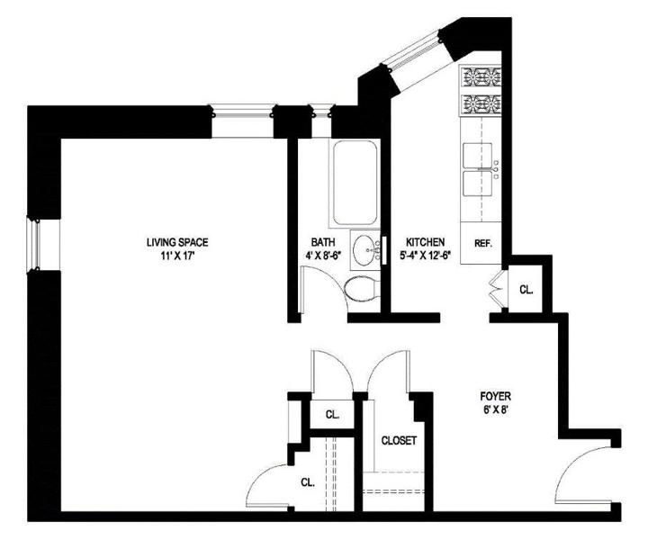 Studio Suite, Brooklyn, New York, $315,000, Web #: 11748955