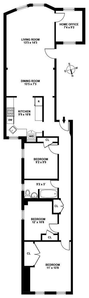 525 5th Street, Brooklyn, New York, $1,325,000, Web #: 11875703