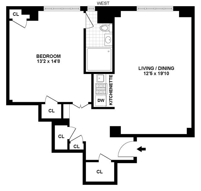 Value-Packed Pre-War One Bedroom, Brooklyn, New York, $525,000, Web #: 12190344