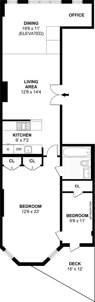 Parlor Floor Luxury, Brooklyn, New York, $1,049,000, Web #: 13144360