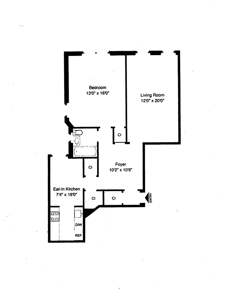 Beautifully Renovated Prewar One Bedroom, Brooklyn, New York, $460,000, Web #: 13831101