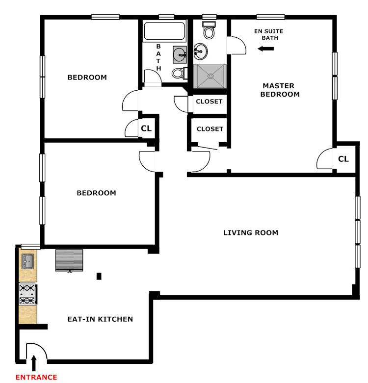 Landmarked 3 Bedroom 2 Bath, Queens, New York, $560,000, Web #: 13928455