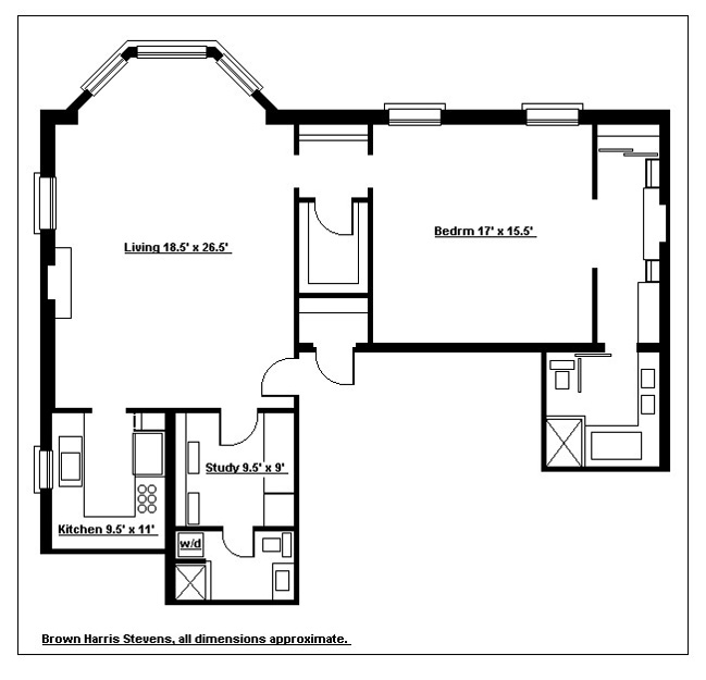 Architectural Jewel On The Harbor, Brooklyn, New York, $1,762,500, Web #: 1567702
