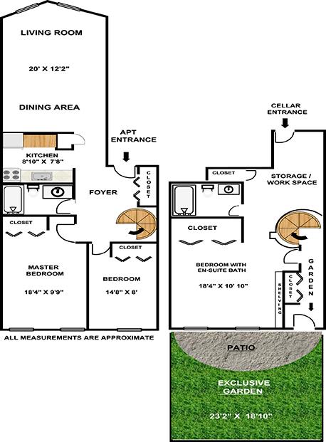 3 Br Garden Duplex, Brooklyn, New York, $1,195,000, Web #: 1757586
