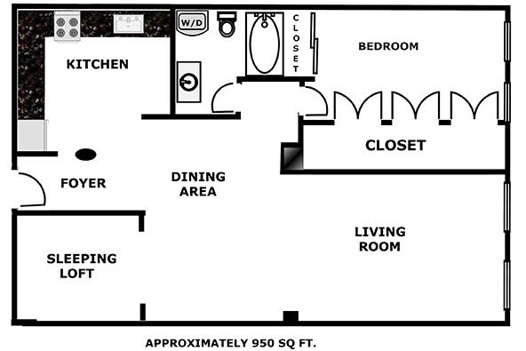 Spacious Converted Loft Space, Brooklyn, New York, $750,000, Web #: 1758409