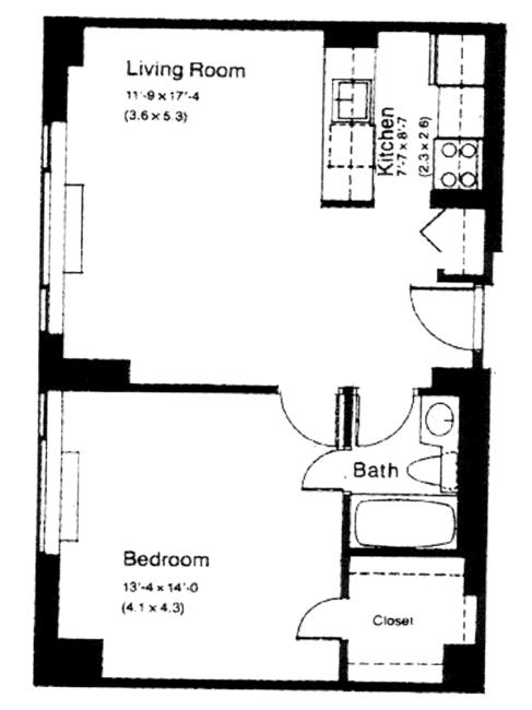 250 South End Avenue, Battery Park City, NYC, $490,000, Web #: 225744