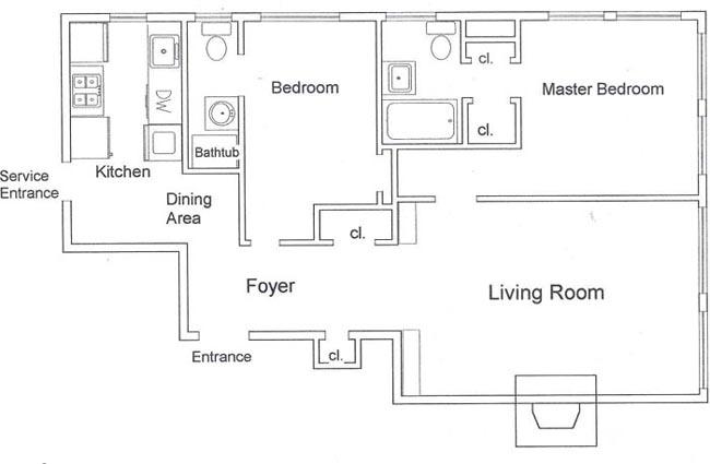 400 East 59th Street, Midtown East, NYC, $560,000, Web #: 229615