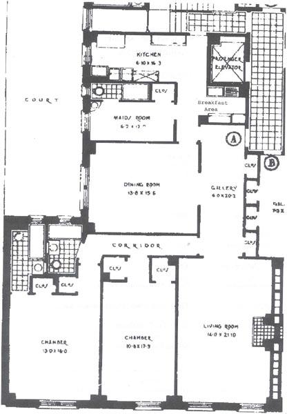 162 East 80th Street, Upper East Side, NYC, $1,260,000, Web #: 229974