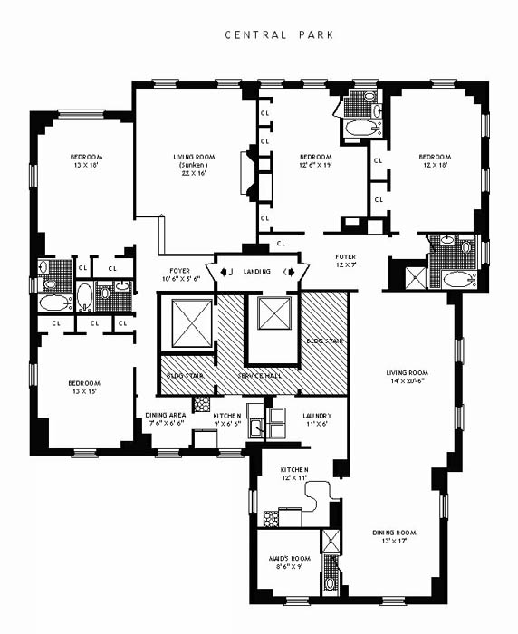 25 Central Park West, Upper West Side, NYC, $5,150,000, Web #: 230760
