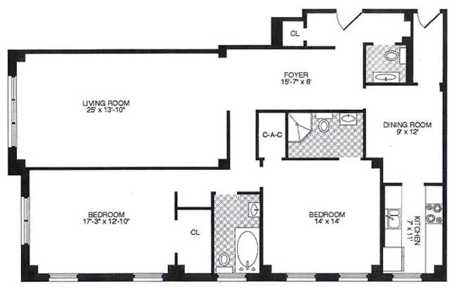 870 Fifth Avenue, Upper East Side, NYC, $1,600,000, Web #: 232672