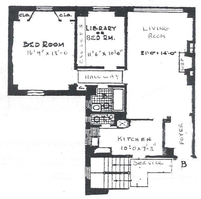 455 East 57th Street, Midtown East, NYC, $450,000, Web #: 235526