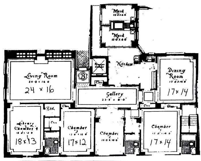 1170 Fifth Avenue, Upper East Side, NYC, $3,450,000, Web #: 237074