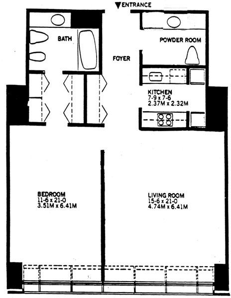 15 West 53rd Street, Midtown West, NYC, $545,000, Web #: 241554
