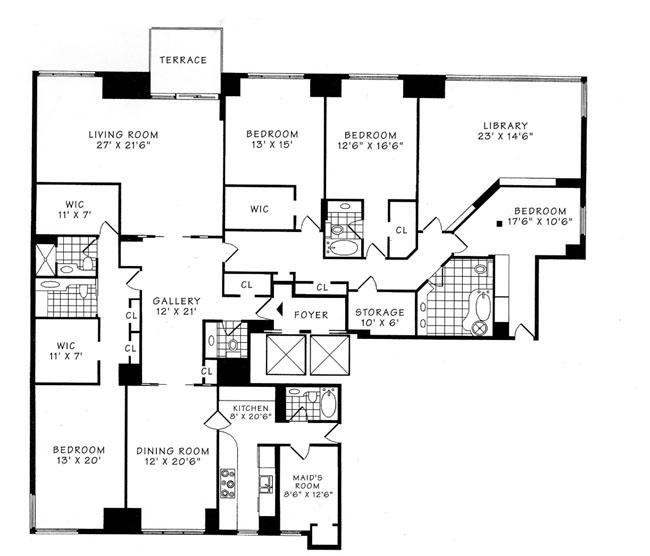 425 East 58th Street, Midtown East, NYC, $2,750,000, Web #: 244528