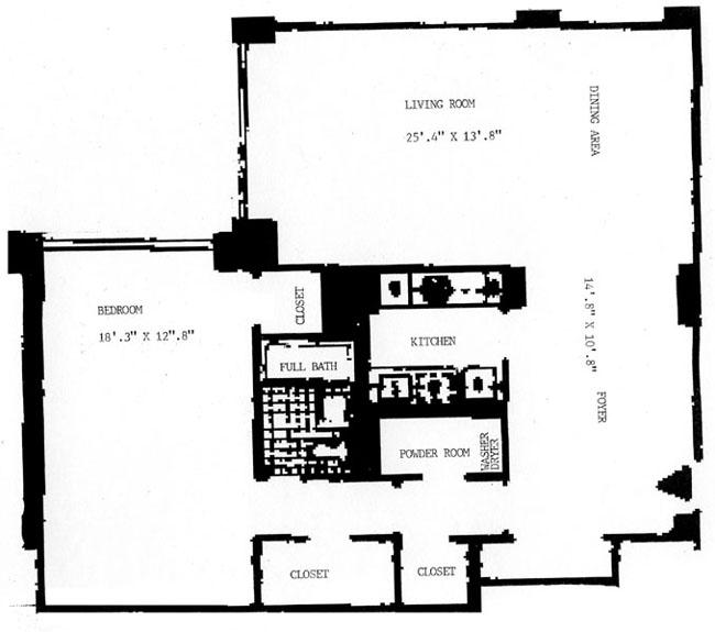 340 East 64th Street, Upper East Side, NYC, $563,000, Web #: 251668