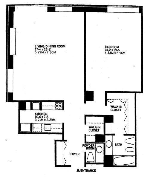 15 West 53rd Street, Midtown West, NYC, $800,000, Web #: 256774