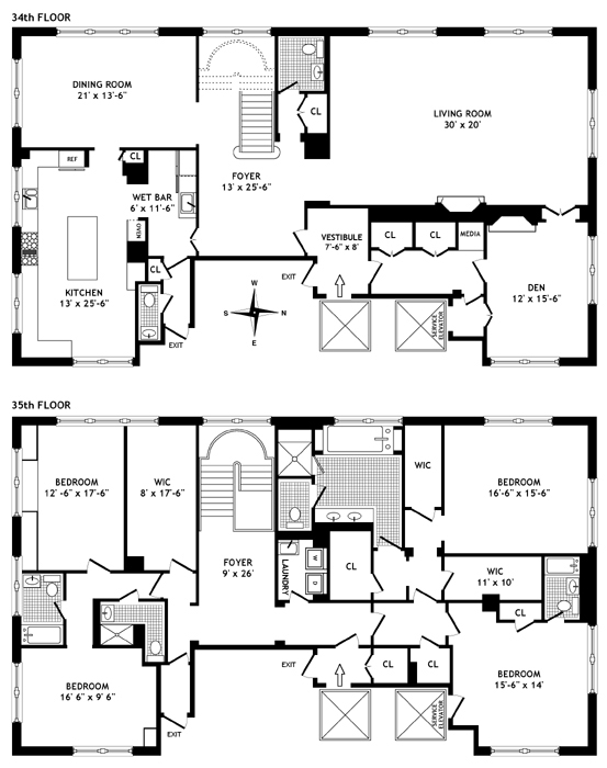 515 Park Avenue, Upper East Side, NYC, $16,100,000, Web #: 256878