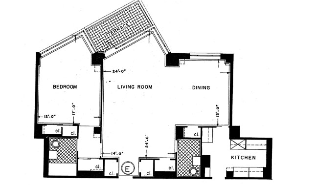60 Sutton Place South, Midtown East, NYC, $495,000, Web #: 261850