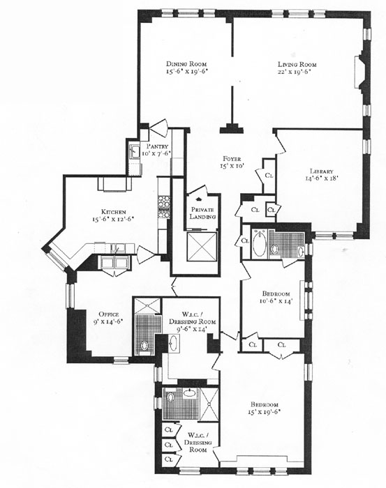 555 Park Avenue, Upper East Side, NYC, $4,350,000, Web #: 262159
