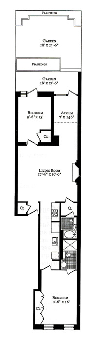 25 West 71st Street, Upper West Side, NYC, $635,000, Web #: 263907