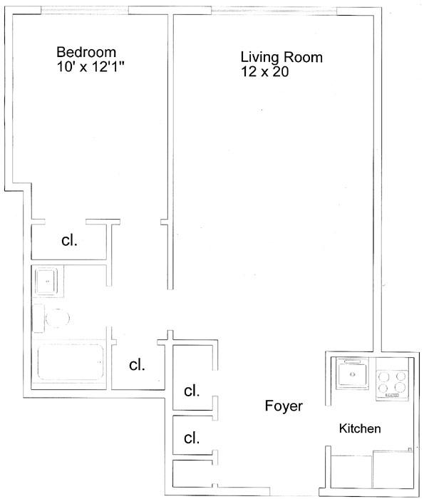 211 East 53rd Street, Midtown East, NYC, $300,000, Web #: 264928